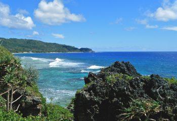 vue sur une baie de l'île de Rurutu